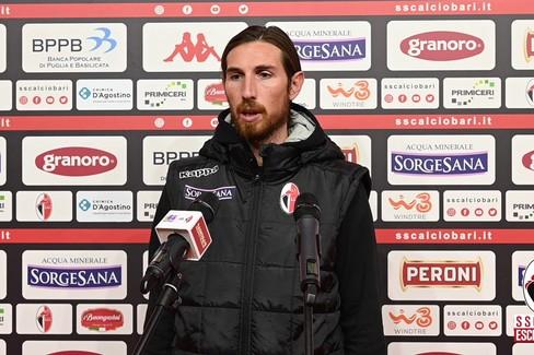 """Bari-Vibonese 0-0, Semenzato:  """"Restiamo sul pezzo e andiamo avanti """""""
