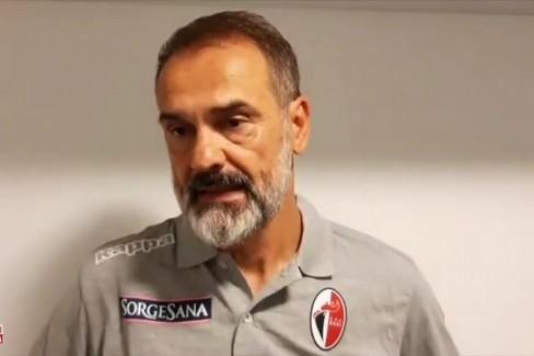 Reggiana-Bari 1-0, Vivarini: «C'è tanta delusione. Ora ripartire»