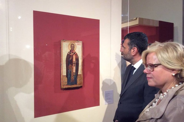 mostra icone russe