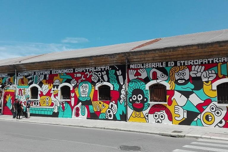 murale caserma rossani