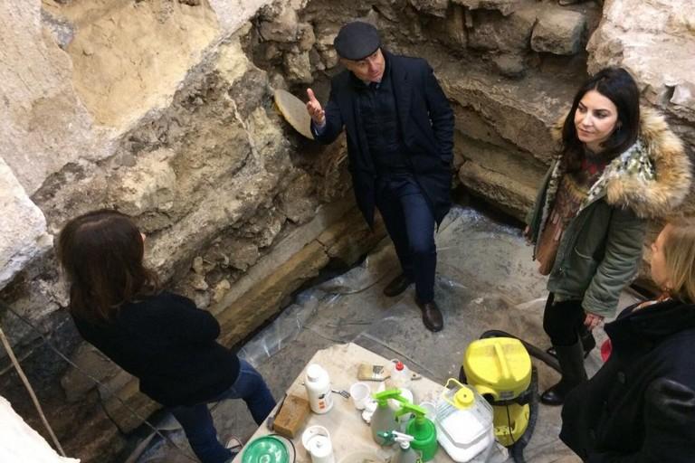 Strada Annunziata, proseguono i lavori con la supervisione archeologica