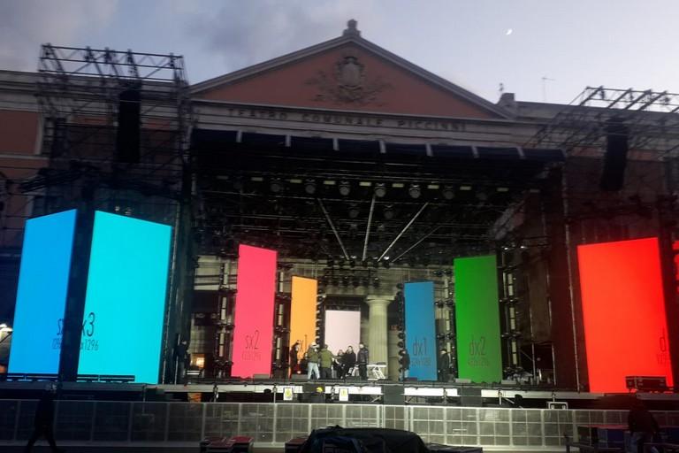 palco capodanno