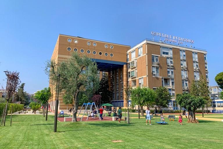 parco ospedale pediatrico giovanni xxiii