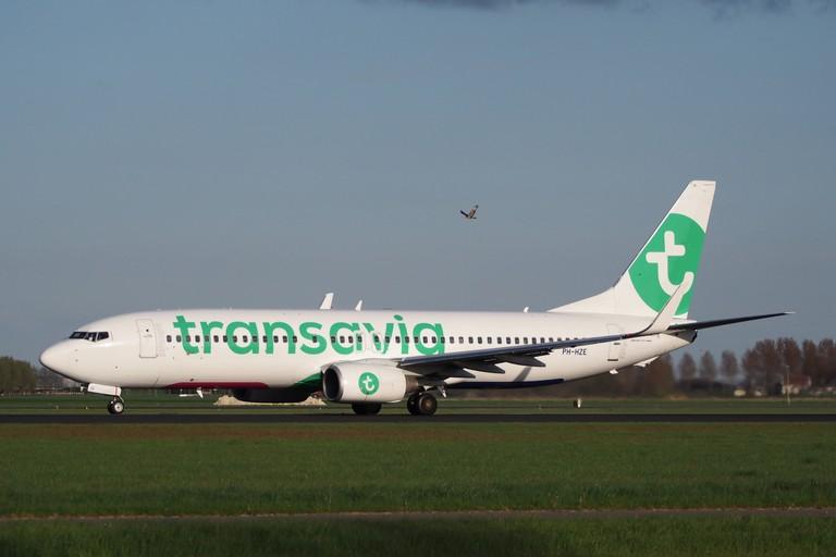 Un aereo Transavia