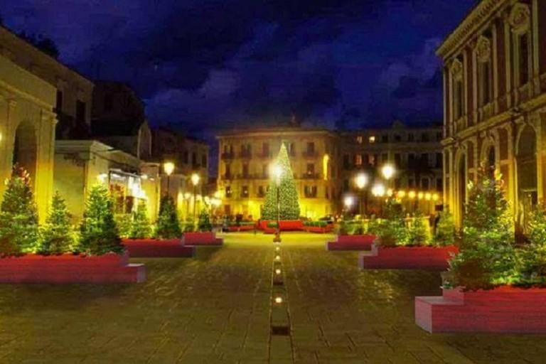 Addobbi in Piazza Ferrarese