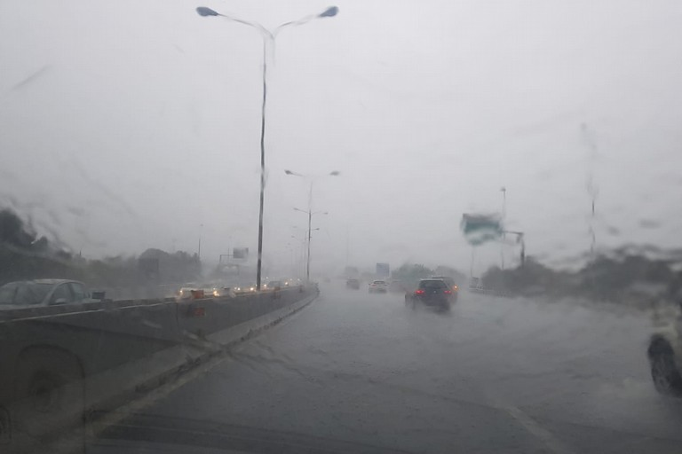 pioggia tangenziale