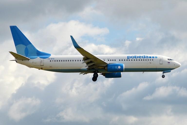 Pobeda VQ BTD Boeing MA