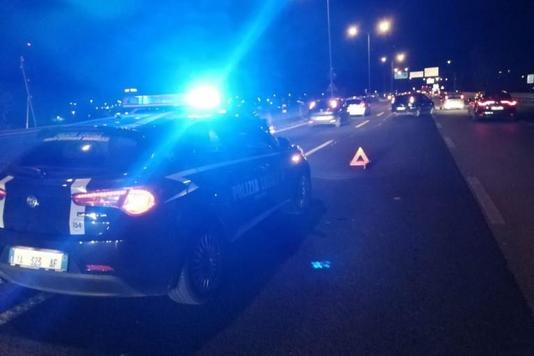 polizia locale incidente