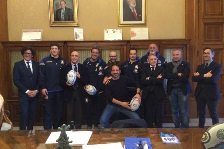 presentazione italia scozia rugby
