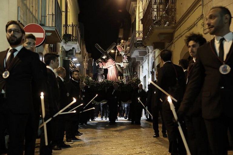 Processione dei misteri a Carbonara