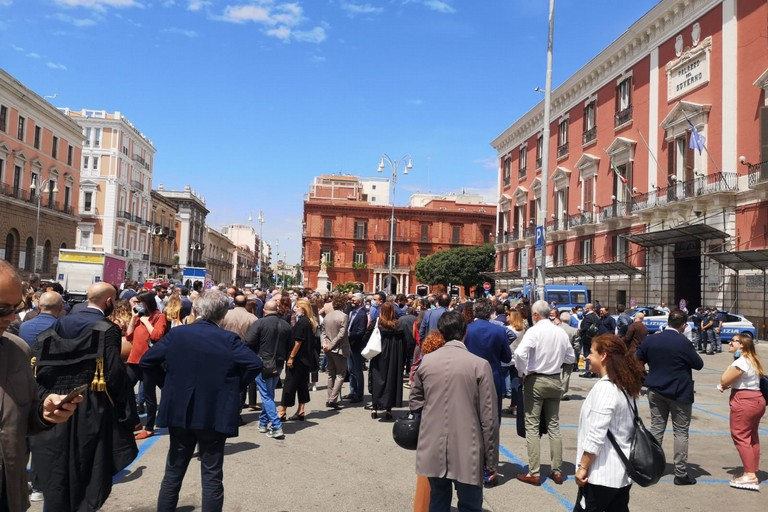 protesta avvocati bari