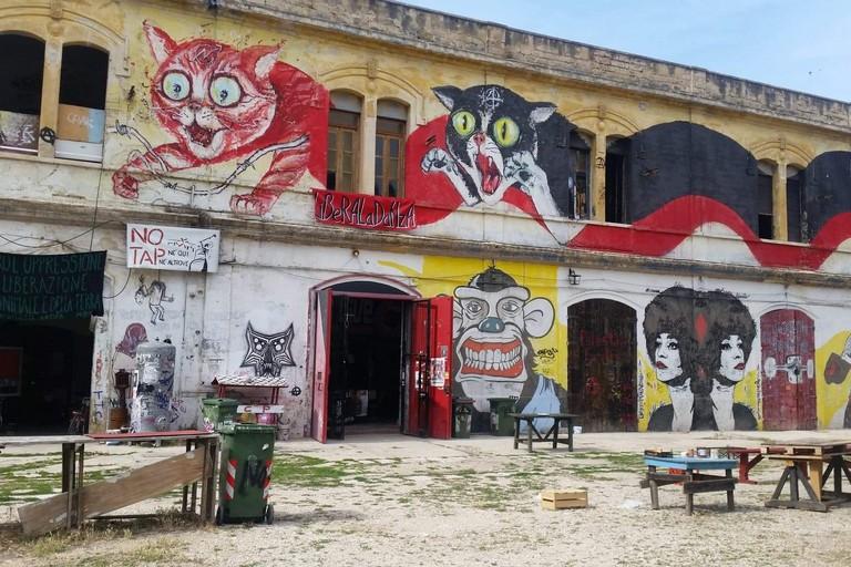 La ex caserma Rossani (Foto Elga Montani)