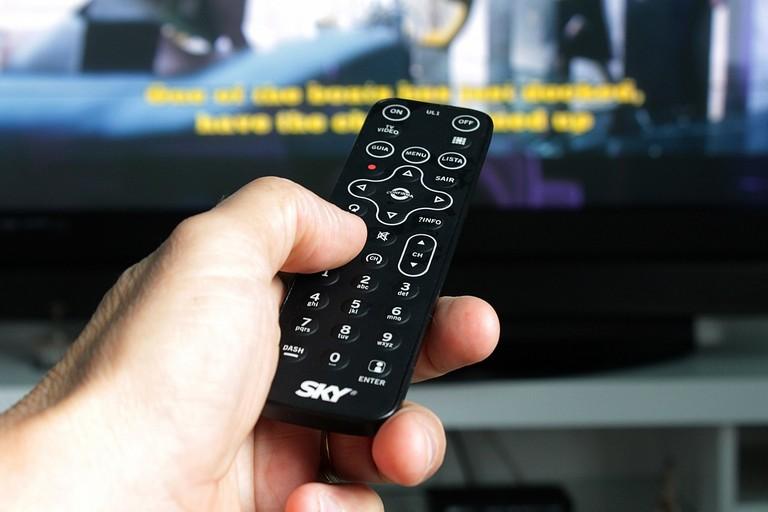 Un televisore