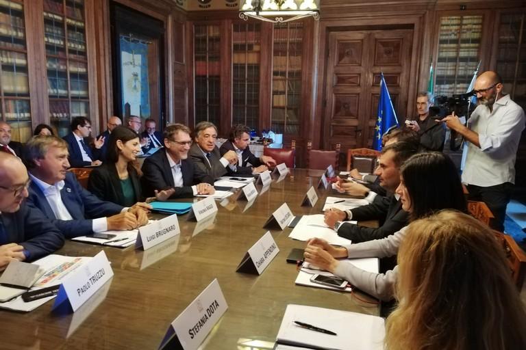 riunione sindaci metropolitani