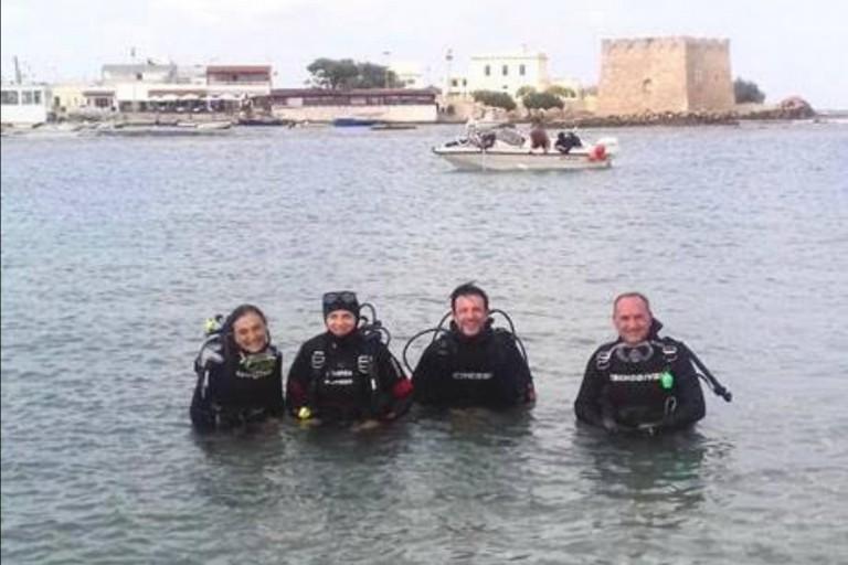scavi subacquei carovigno