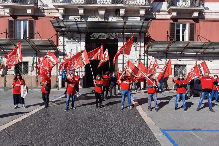 sciopero lavoratori imprese di pulizia