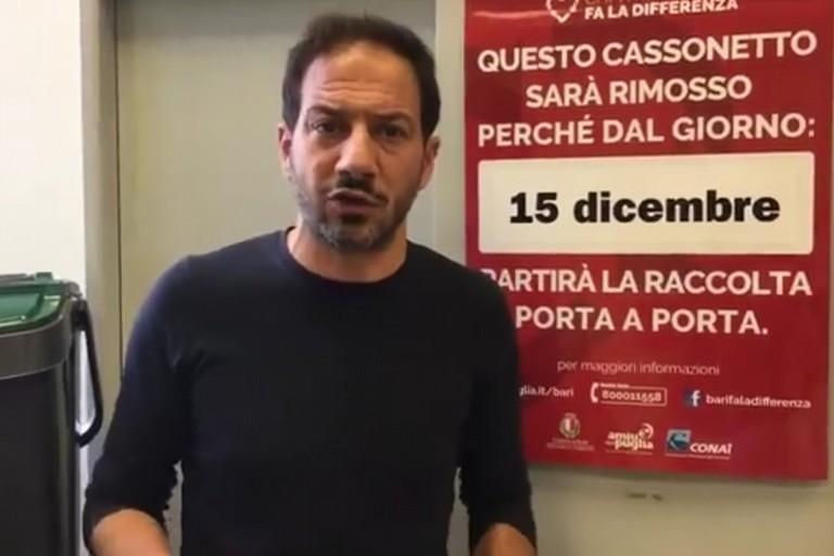 Porta a Porta a Bari, dal 15 dicembre si parte a Fesca, San Girolamo, San Cataldo e Villaggio Trieste