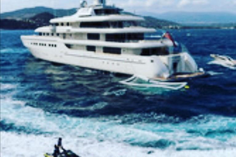 Briatore yacht
