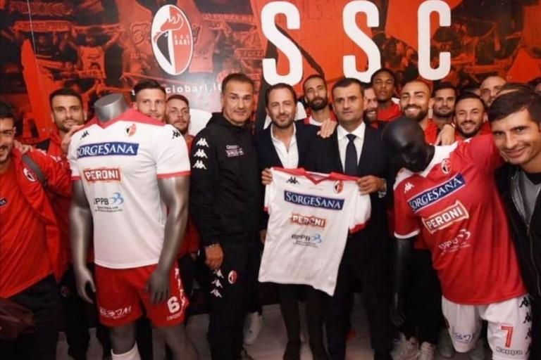 Inaugurazione store ufficiale SSC Bari. <span>Foto Ssc Bari</span>