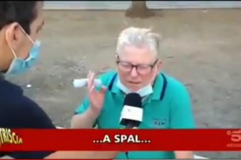 Tifoso Bari striscia la notizia