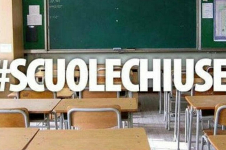 scuole chiuse x
