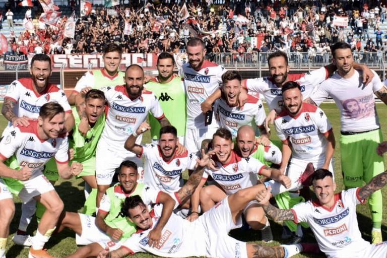 la squadra del Bari. <span>Foto ssc bari</span>