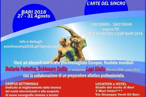 summer synchro camp