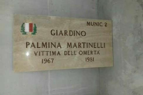 Targa Palmina Martinelli