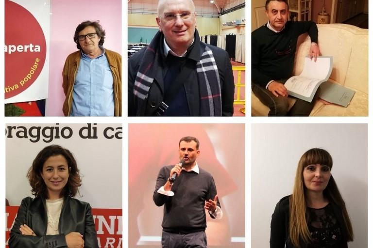 I candidati a sindaco di Bari
