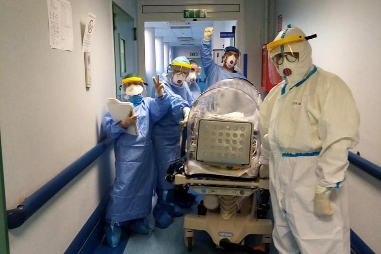 Trasferimento terapia intensiva pediatrico