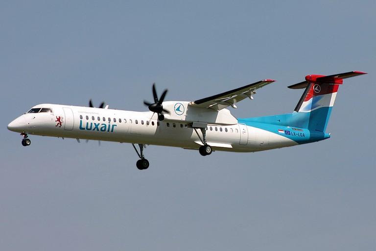 Un aereo LuxAir