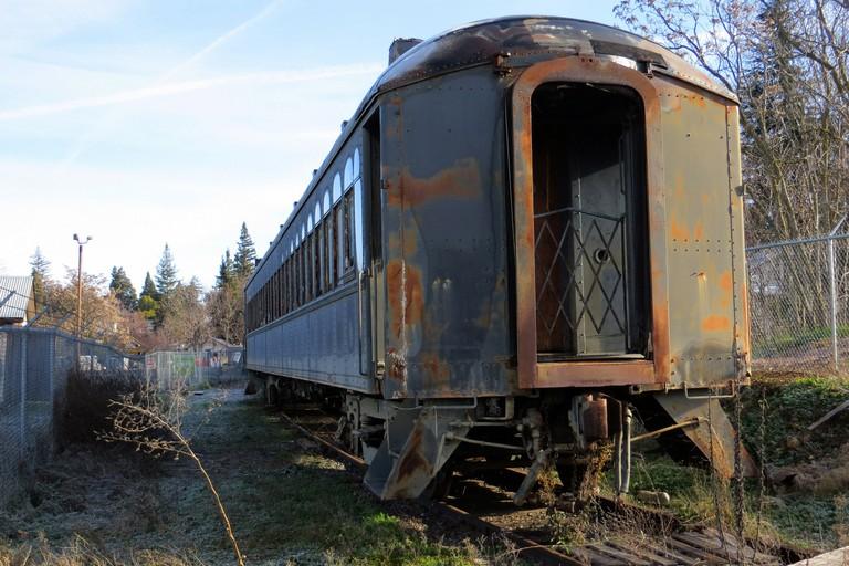 Un vecchio treno