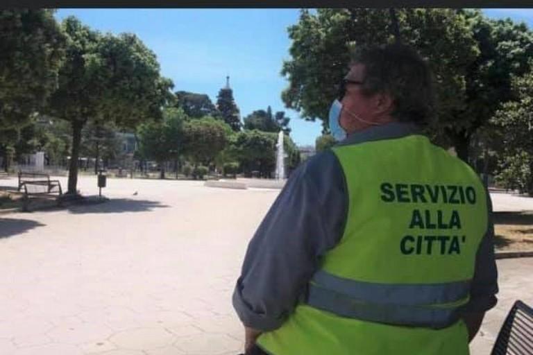 Un volontario in Servizio alla Città
