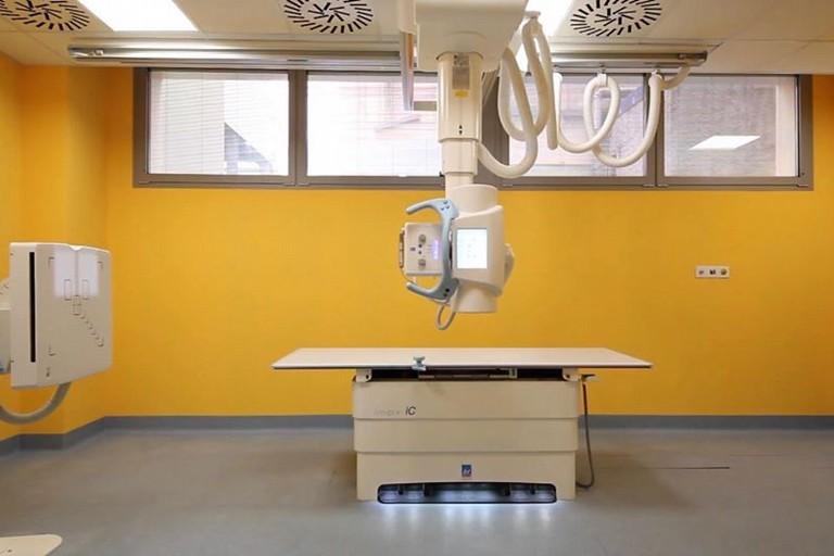 Una delle nuove apparecchiature dellospedale di Putignano