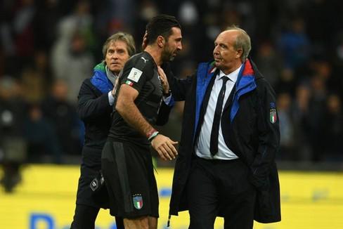 ventura buffon. <span>Foto Federazione Italiana Giuoco Calcio</span>