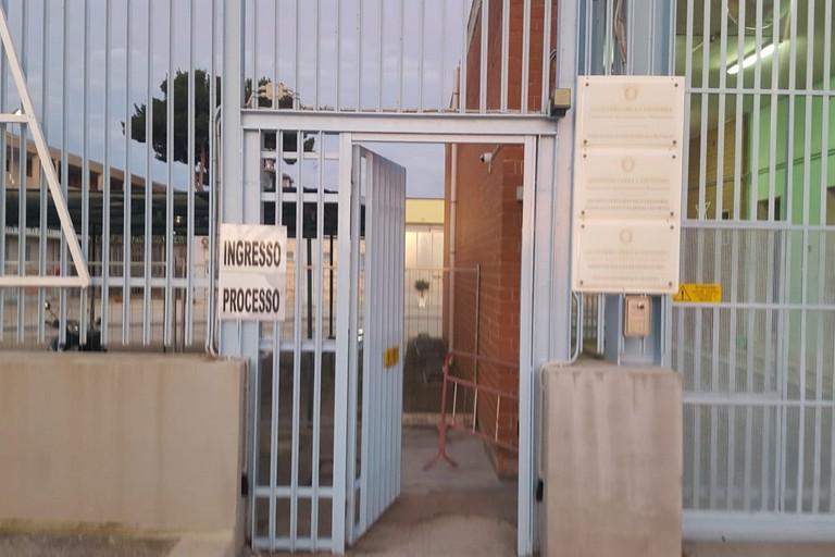 L'ingresso del tribunale