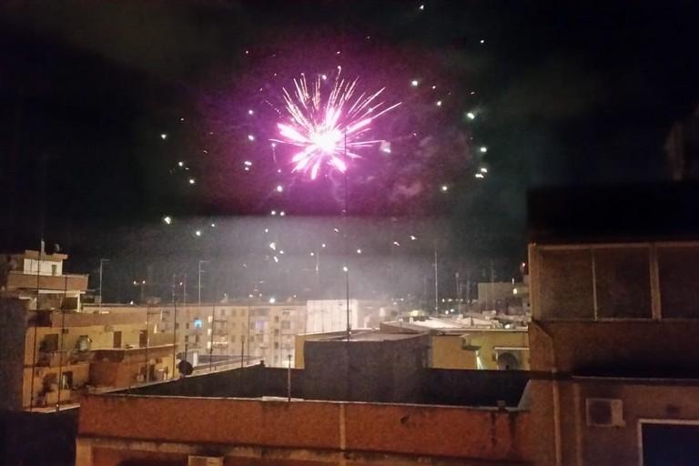 I fuochi d'artificio al Libertà