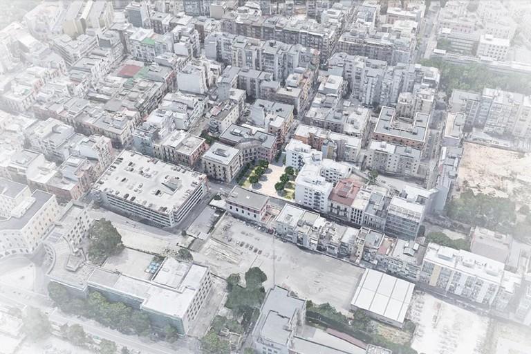 Il primo progetto del nuovo quartiere Libertà