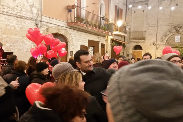 Il gran ballo di San Valentino in largo Albicocca