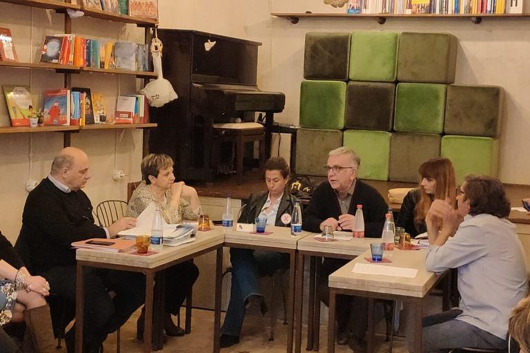 L'incontro tra candidati